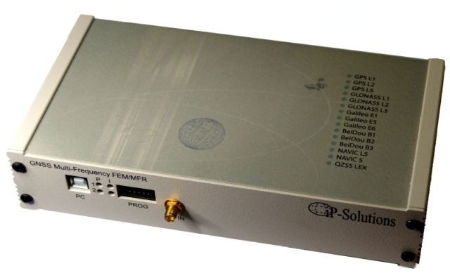 GPS GLONASS Galileo BeiDou QZSS recorder to record GNSS RF signals and USB front end for SDR